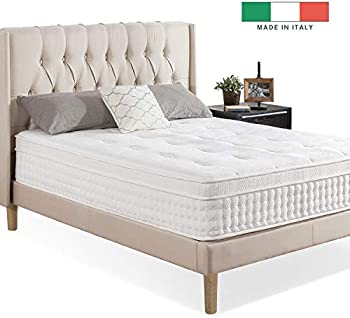 Zinus Night Therapy iCoil 13 Inch Deluxe Euro Box Top Spring Mattress