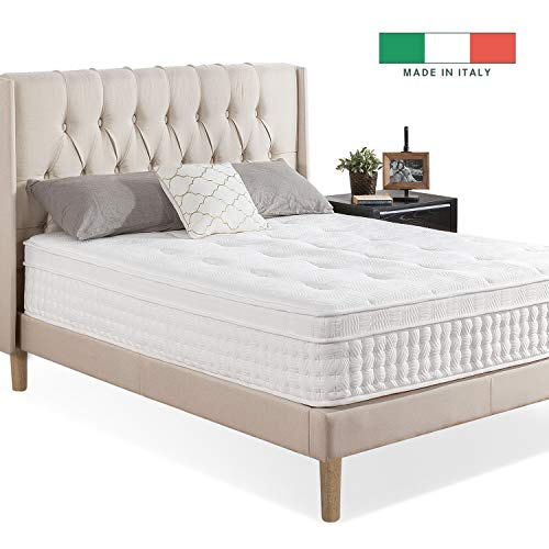 "ZINUS Euro Top Pocket Spring Hybrid Mattress 13"" Full $210 + Free Shipping"
