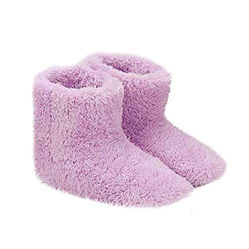 YepYes Climatizada Zapatillas Calientes USB Calefacción Zapatillas de Invierno Plantillas de Calentamiento para Buena Noche de sueño 5V Calentador de Regalos para Las Mujeres