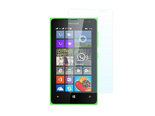 etuo Bildschirmschutzfolie für Microsoft Lumia 435-3H Folie Schutzfolie Bildschirm Display Schutz