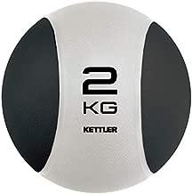 Kettler Kr7371250 Medicine Ball, Black / Pearl White