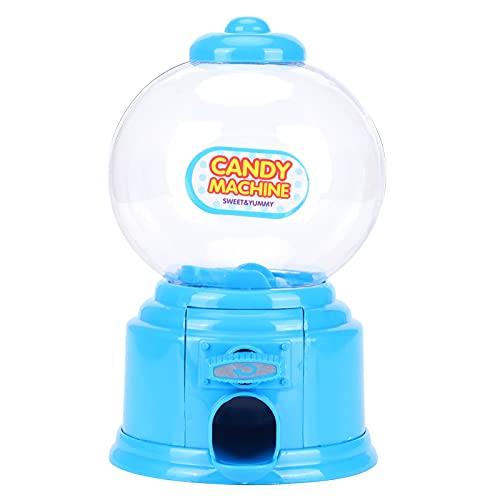 Les-Theresa Mini Caja de depósito de Dinero Dulces Lindos Máquina de Almacenamiento de Dulces Regalos para niños Niños(Azul)