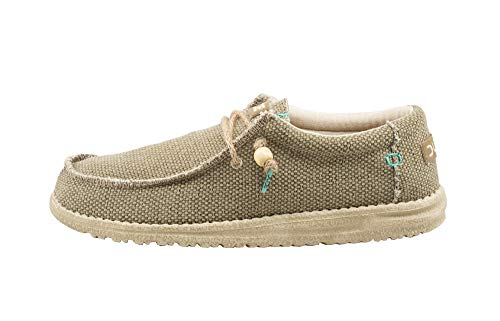 Hey Dude Men's Wally Braided Sage, Size 9