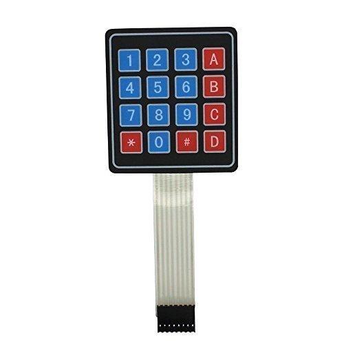 Preisvergleich Produktbild 4 x 4 16 Schlüssel Matrixdrucker Folientastatur