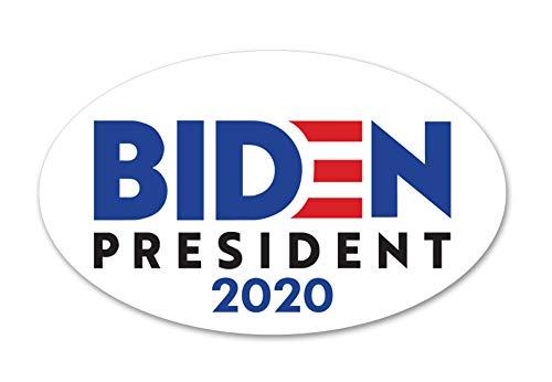Biden for President 2020 White Car Decal/Sticker
