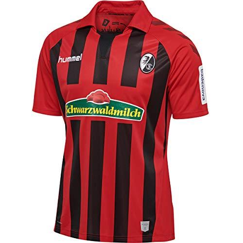 hummel SC Freiburg Trikot Home 2019/2020 Herren rot/schwarz, L