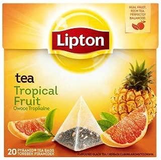 Lipton Tea Tropical fruit [PACK OF 3]