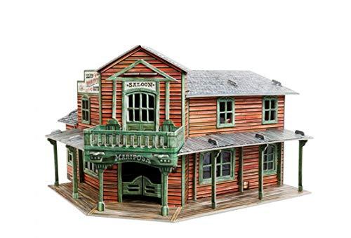 UMBUM 466 Wild West Saloon Brettspiel in Box, Mehrfarbig