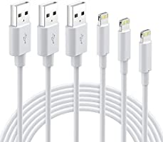 iPhone Charger MFi Certified - Lightning Cable 3Packs