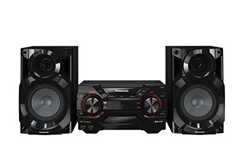 Panasonic SC-AKX200E Mini set 400W Negro - Microcadena (Home audio mini system, Negro, 400 W, De 2 vías, 4400 W, AM,FM)