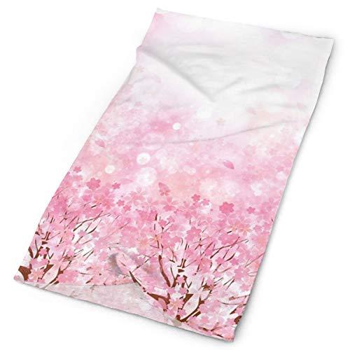 Headwear Headband Head Scarf Wrap Sweatband,Japanese Cherry Blossom Sakura Tree With Romantic Influence Asian Nature Theme Artwork,Sport Headscarves For Men Women