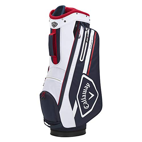 Callaway Golf 2021 Chev 14 Cart Bag , NAVY/WHITE/RED
