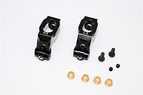 GPM HPI Sport 3 Flux Tuning Teile Aluminium Front C-Hub - 1Pr Black