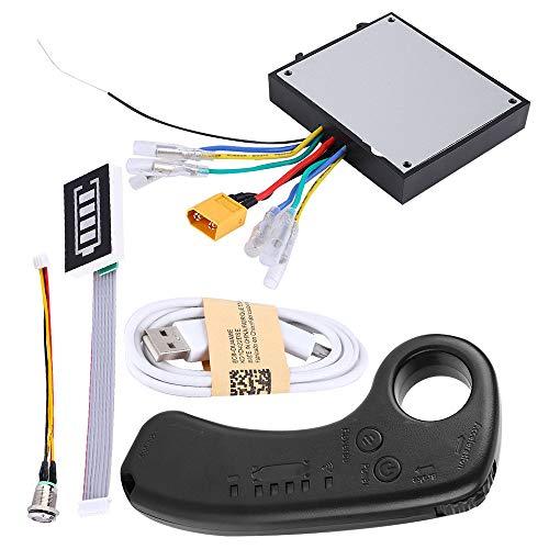 TRF Elektro-Skateboard-Controller, 36V Dual-Motor Elektro-Skateboard-Controller mit 2.4G Mini Wireless Fernbedienungsempfänger - Covering Abstrahlungsplatte