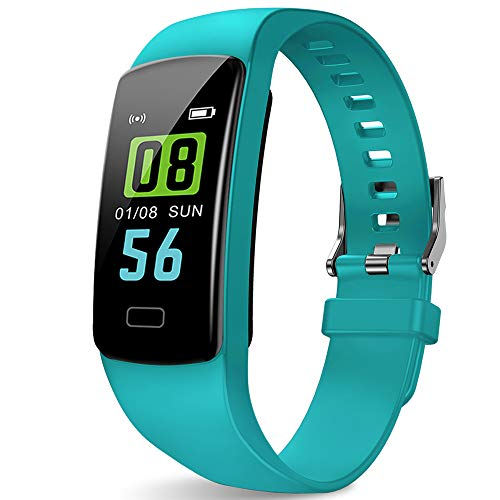 PUBU Fitness Tracker for Women Teens, Small Wrist Fitness Watch for Kids with Heart Rate Monitor Sleep Monitor, Calorie Counter and More, Kids Activity Tracker - Child Step Tracker