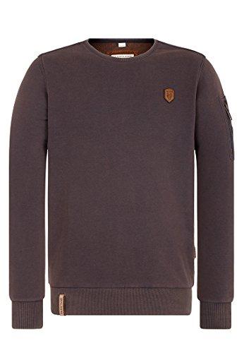 Naketano Herren Sweater Laktoseintoleranz & Vollbart Sweater