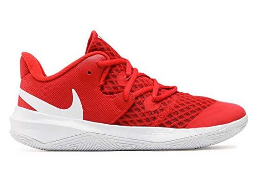 Nike CI2964-610_45, Zapatillas de Voleibol Hombre, Rojo, EU