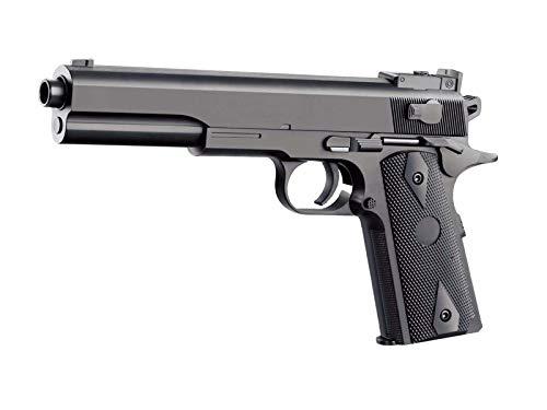 Rayline 2123-A1 Plastik Softair Pistole (Federdruck) Gewicht 160 g, 6mm Kaliber, Farbe: Schwarz, Energie: <0.5 Joule