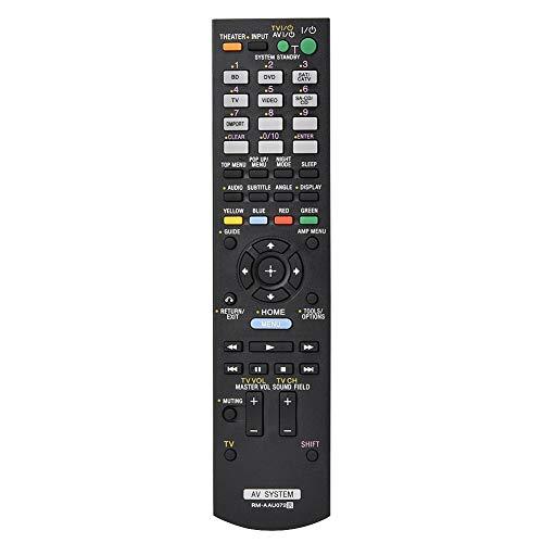 Vervangende afstandsbediening, vervangende audio-video-afstandsbediening voor RM-AAU071 RM-AAU075 STR-DN610 RM-AAU072, multifunctionele audio/video-afstandsbediening