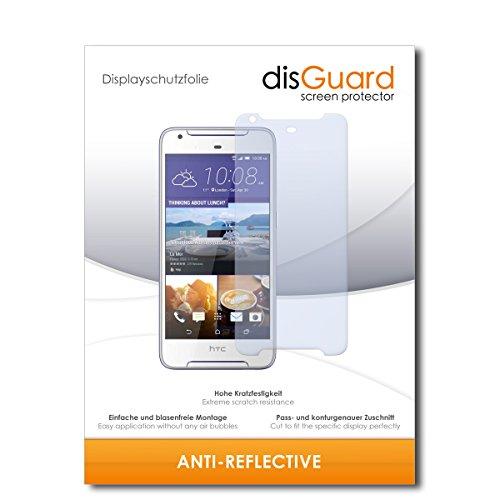 disGuard® Bildschirmschutzfolie [Anti-Reflex] kompatibel mit HTC Desire 628 Dual SIM [2 Stück] Entspiegelnd, Matt, Antireflektierend, Extrem Kratzfest, Anti-Fingerabdruck - Panzerglas Folie, Schutzfolie
