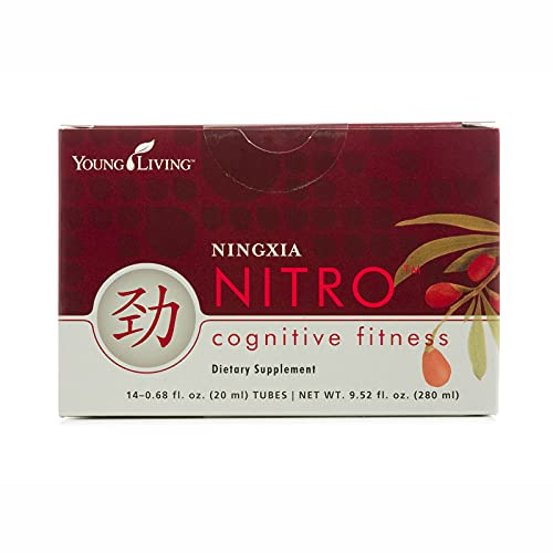 Young Living Ningxia Nitro Cognitive Fitness - Focus, Acuity, Performance - 14 0.68-fl-oz Tube