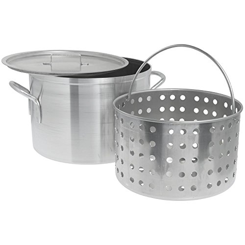 Vollrath 68271 Boiler, Pasta Cooker and Vegetable Steamer 20 Quart Capacity
