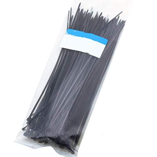 Diamoen 100pcs / Bag Selbsthemmend Multi-Purpose Nylon Zip Cords Drähte Kabelbinder-Management