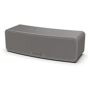 Crave Curve Portable Bluetooth Wireless Intelligent Speaker with Enhanced Bass Built-in Microphone and Speakerphone