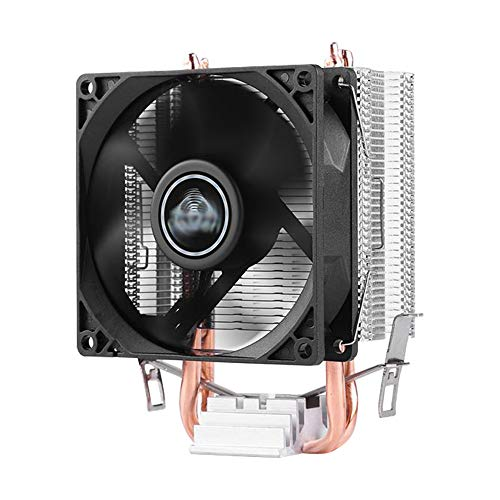 Feicuan Dissipatore di processore PC Sistema di Raffreddamento Ventola da 90mm CPU Dissipatore 3 Pin per AMD AM4 AM3 Intel 115x,Fino a 65 W