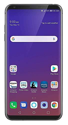 LG V35 ThinQ 64GB Smartphone GSM Unlocked (AT&T/T-Mobile), Platinum Gray (Renewed)