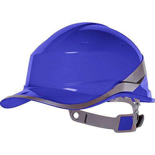 VENITEX - Elmetto Alta visibilità con Visiera (Confezione da 2) (Taglia Unica) (Blu)