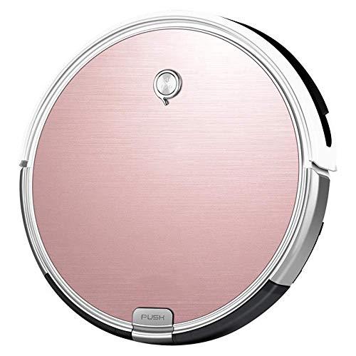 HNLSKJ Inalámbrico Aspiradora Aspiradora 2 en 1 Wet Plan y seco Ruta Frenos Cambio de Color de Rosa for el hogar Inteligente de vacío de Limpieza (de Color: Rosa, tamaño: un tamaño) ggsm