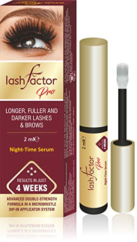 Lashfactor Pro, Triple Strength Rapid Eyelash Growth in just 4 weeks, Ophthalmologist and Dermatologist Tested, 2ml ⭐