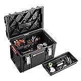 Facom BSYS.BP400 Caja de Herramientas con Fondo Y Almacenamiento Vertical, Negro