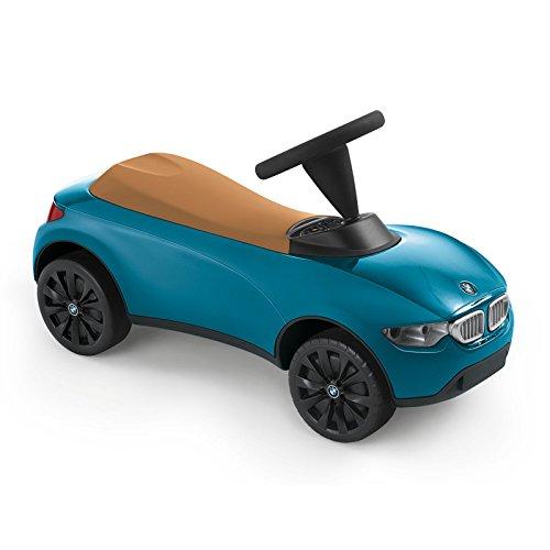 BMW Baby Racer III, Voiture de course pour enfant, Turquoise/beige
