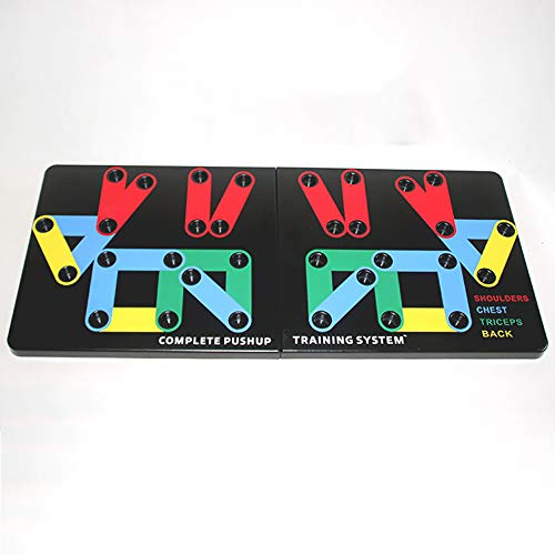 Push up Board, Stands, Complete Push Up Training System,Strength & Conditioning, Fitness Workout Gym Home Exercise