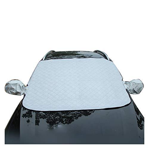 Parasol Coche Delantero Universal Coche Parabrisas Cubierta de nieve Coche Magnético Cubiertas de nieve Sunshade Hail Ice Nieve Bloqueado Sun Polvo Protección contra heladas (Color : Non magnetic)