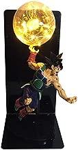 DragonBall Son Goku (Kakarotto) Figure Ka Me Ha Me Ha Creative Table Lamp Led Table Lamp Toy (Color : Yellow)