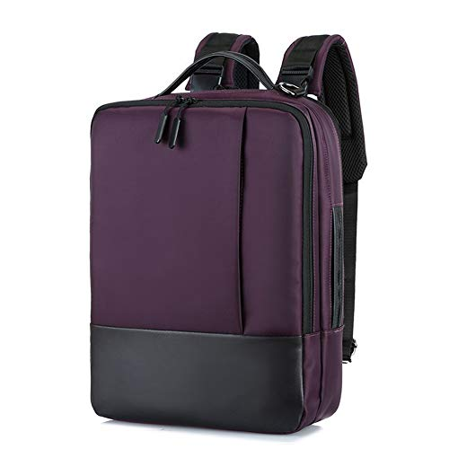 lzndeal - Mochila antirrobo para portátil, impermeable, con puerto USB para viajes de negocios, mochila para portátil