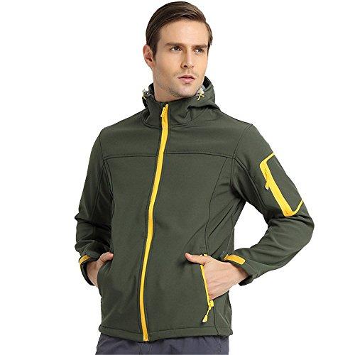UGLY FROG Bike Wear Fleece Softshell-Jacken Herren Radsport Camping & Outdoor Bekleidung Full Zip Windstopper Winter Style 1685