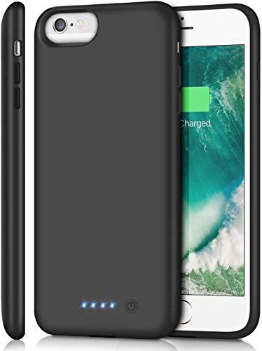 SWEYE Funda Batería para iPone 8 Plus/7 Plus/6S Plus/6 Plus 8500mAh Funda Cargador Portátil Carcasa Batería Externa Para ipone 8 Plus/7 Plus/6S Plus/6 Plus Case Carcasa Batería Recargable [5.5 inch]