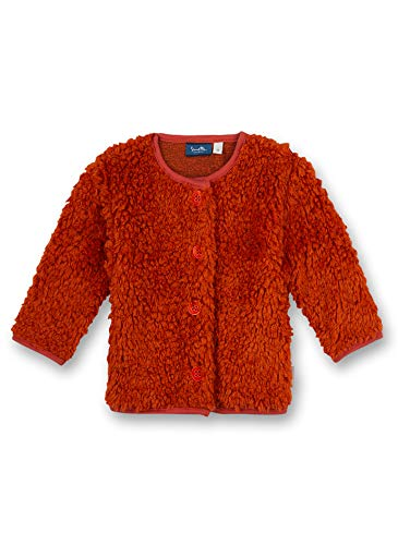 Sanetta Baby-Mädchen 115335 Sweatshirt, red Pepper, 80