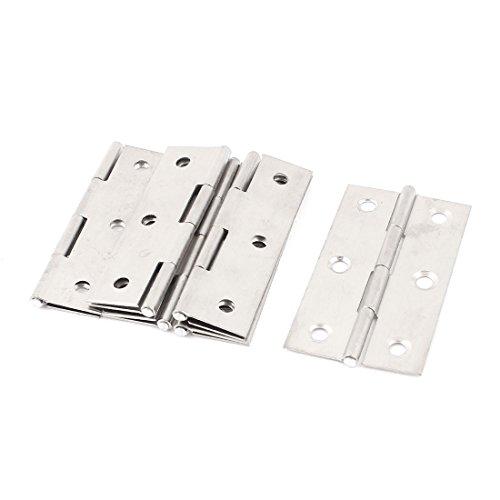 Para puertas y ventanas para armario 6,35 cm acero inoxidable Bisagra 6...