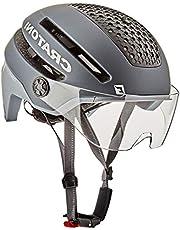 Cratoni Commuter PEDELEC helm grijs fietsmaat, uniseks, volwassenen, zwart, eenheidsmaat