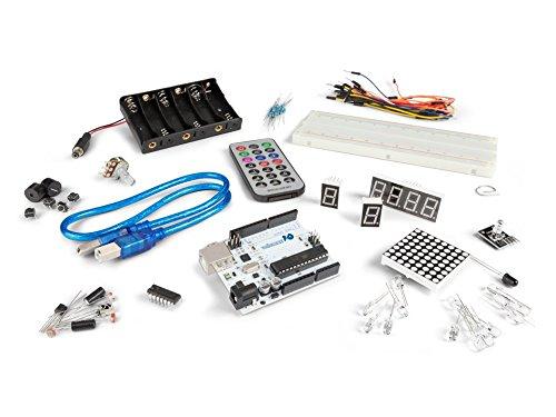 Velleman VMA501 DIY Starter Kit for Arduino, Multi-Colour