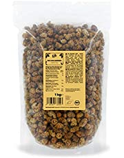 KoRo - Gedroogde biologische moerbeien 1 kg - Gedroogde vruchten zonder zwavel en ongezoet in een voordeelverpakking