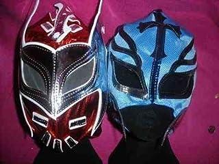 SOPHZZ TOY SHOP Sin Cara Bleu Masque D/éguisement D/éguisement Style R/éplique Catch WWE Mistico Maske Fermeture /Éclair Enfant Adulte Neuf F/ête Wrestlemania Gear Costume