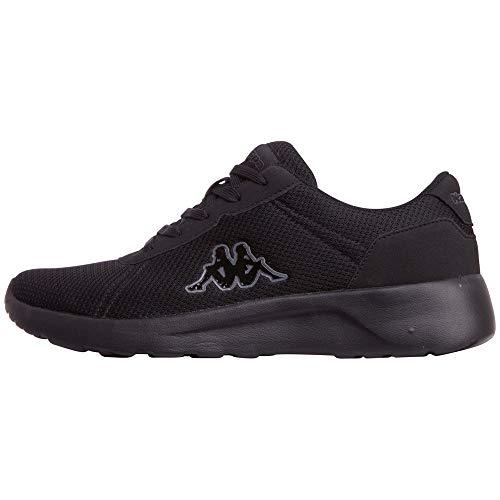 Kappa Herren TUNES OC Sneaker, Schwarz, 47 EU