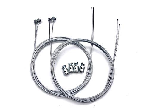 Set 4 Cables Embrague Moto 8X8 1900 mm. INOXIDABLES + 4 Sujetacables 10x12 mm.