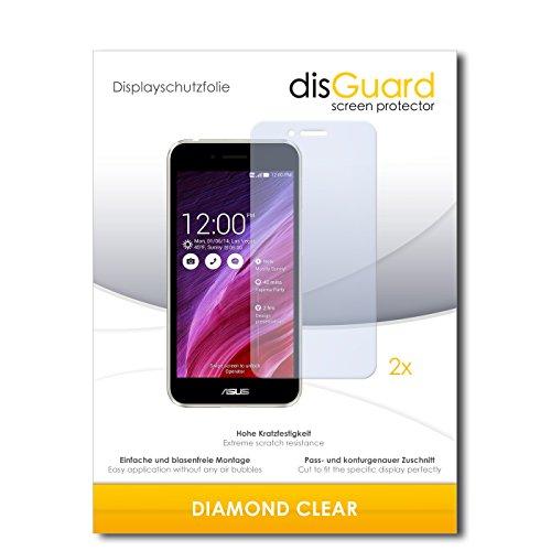 disGuard 2 x Displayschutzfolie Asus Padfone S Schutzfolie Folie DiamondClear unsichtbar